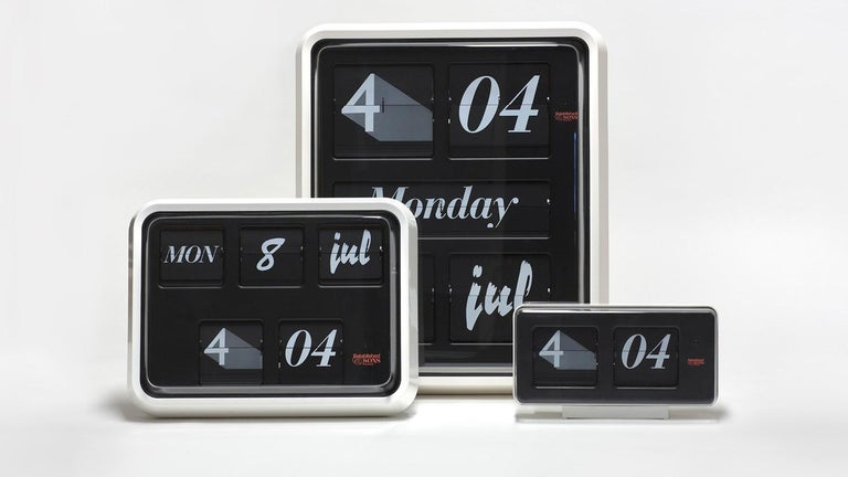 Contemporary Established & Sons Medium Font Clock by Sebastian Wrong For Sale