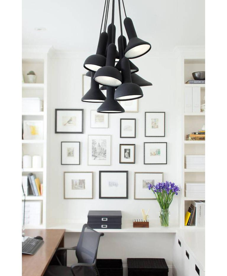 Contemporary Established & Sons S10 Bunch Torch Pendant Light by Sylvain Willenz For Sale