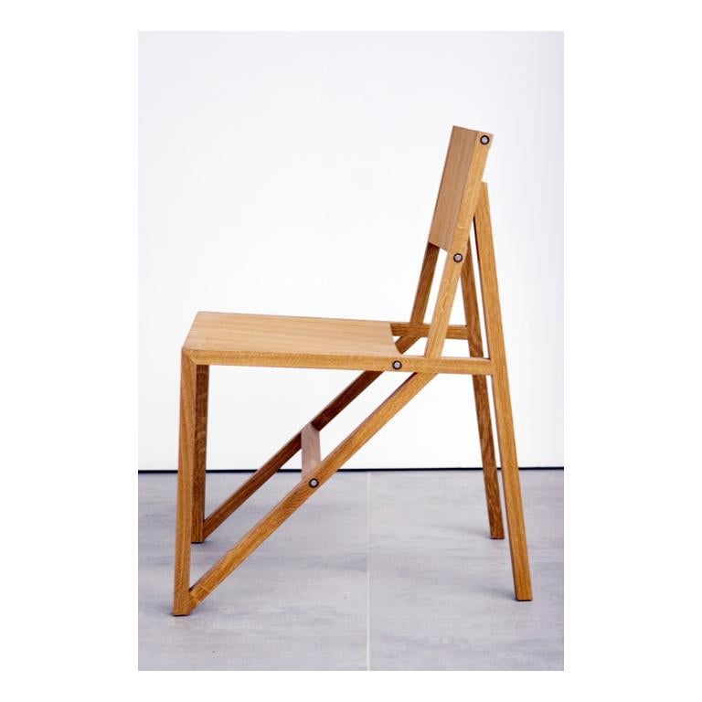 Contemporary Established & Sons Single Frame Chair by Wouter Scheublin For Sale