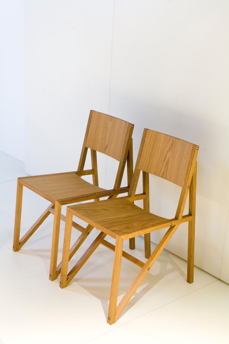 Established & Sons Single Frame Chair by Wouter Scheublin For Sale 2