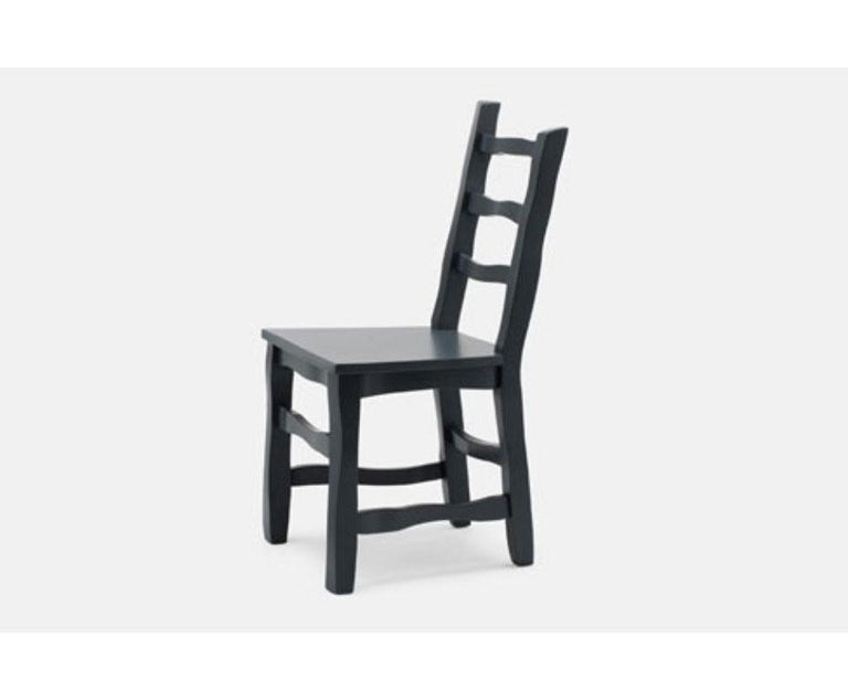 Established & Sons Standard Unique Dining Chair in Black Grey In New Condition For Sale In Vancouver, BC