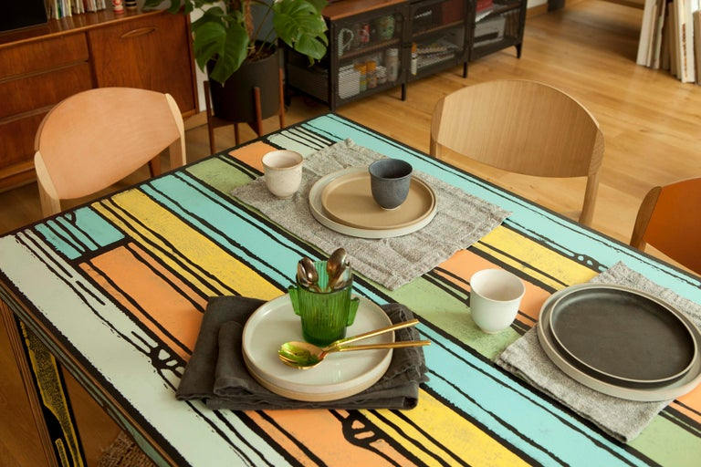Established & Sons Wrongwood Dining Table by Richard Woods & Sebastian Wrong For Sale 2