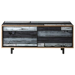 Established & Sons Wrongwoods Low Cabinet by Richard Woods & Sebastian Wrong