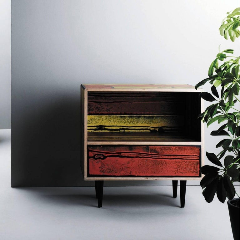 Established & Sons Wrongwoods Nightstand For Sale 1