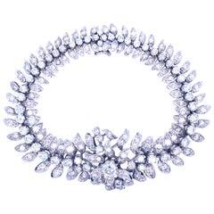 Estate 14 Carat Diamond Bracelet