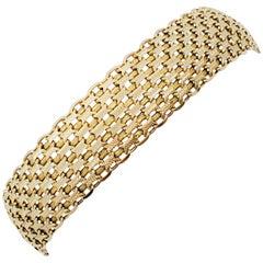 Estate 14 Karat Yellow Gold Bracelet