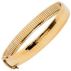 Estate 14 Karat Yellow Gold Italian Bracelet