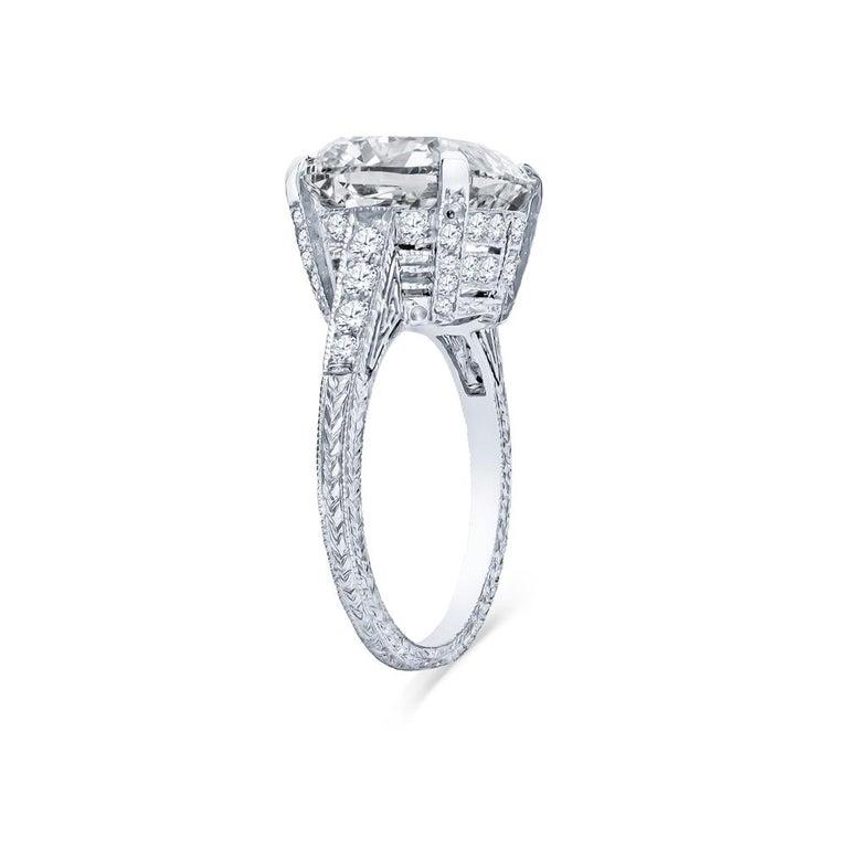 Platinum Engagement Rings Sale Uk: Estate Antique Art Deco Platinum 8.70 Carat Diamond
