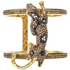 Emerald Cuff Bracelets
