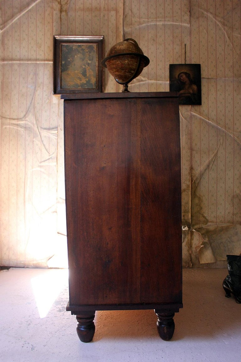 Estate Made Cherrywood and Mahogany Chest of Drawers, circa 1870 For Sale 9