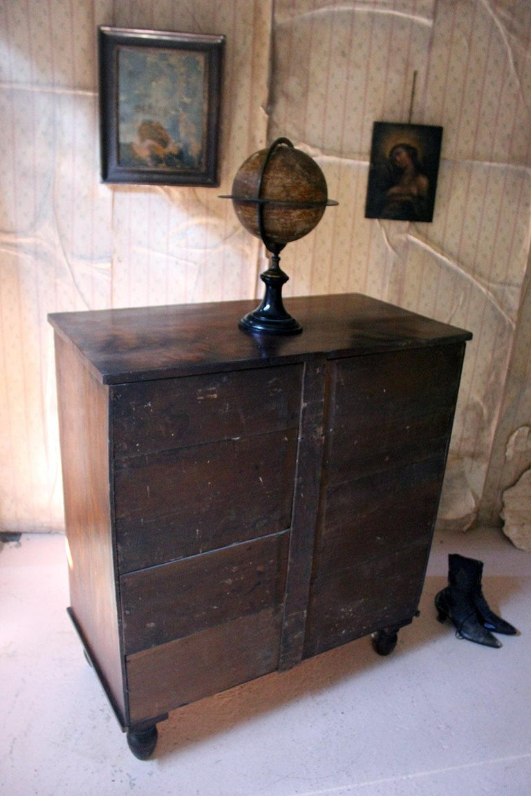 Estate Made Cherrywood and Mahogany Chest of Drawers, circa 1870 For Sale 10