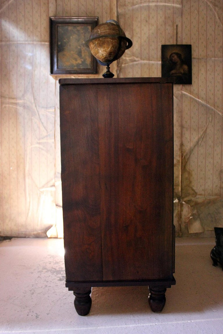 Estate Made Cherrywood and Mahogany Chest of Drawers, circa 1870 For Sale 12