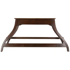 Estate-Made Horse Mounting and Tack Room Bench, 1930s