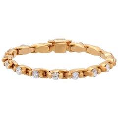 Estate Rose Gold Diamond Eternity Ring