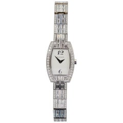 Estate Tiffany & Co. Diamond Gold Ladies Watch