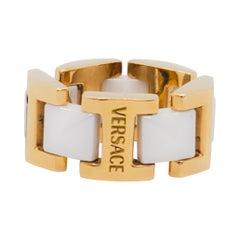 Estate Versace Ring in 18k Yellow Gold