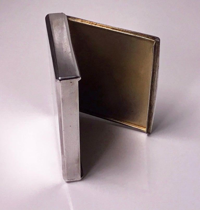 Estonian Silver Cigarette Case, Estonia, circa 1925 For Sale 2