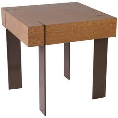 ET-23 End Table with Metal Legs by Antoine Proulx