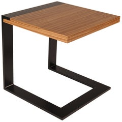 ET-87 Square Cantilevered End Table by Antoine Proulx
