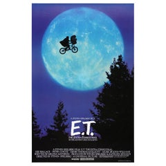 """""""E.T. The Extra-Terrestrial,"""" 1982 Poster"""