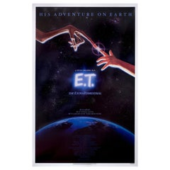 E.T. the Extra-Terrestrial 1982 U.S. One Sheet Film Poster