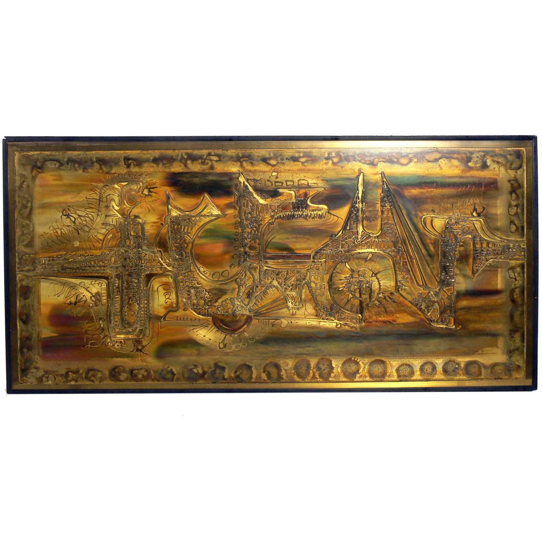 Etched Brass Artwork by Bernhard Rohne