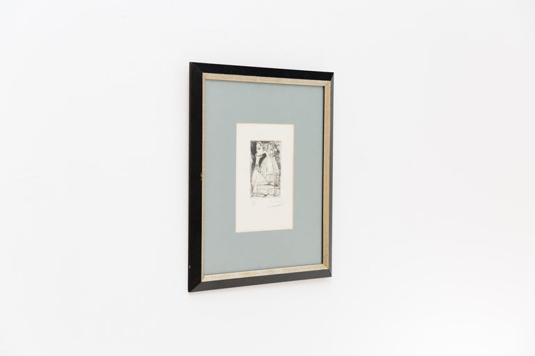 Etching by Pablo Picasso,