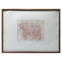 Etching by Guillaume Azoulay