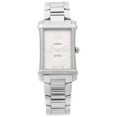 Eterna Contessa Stainless Steel Silver Dial Quartz Ladies Watch 2410.41.65.0264