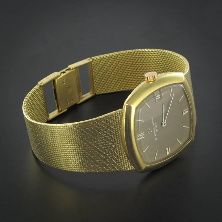 Eterna-Matic 3000 yellow gold vintage Automatic Wristwatch, 1960s  For Sale 1