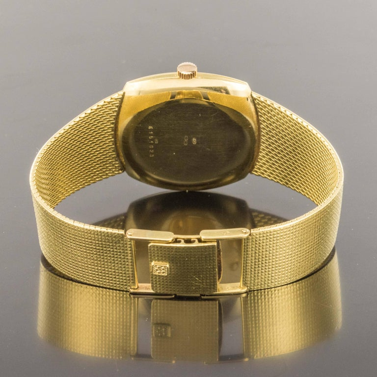 Eterna-Matic 3000 yellow gold vintage Automatic Wristwatch, 1960s  For Sale 3