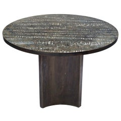 Eternal Forest Bronze Dining Table by Philip and Kelvin LaVerne, circa 1965