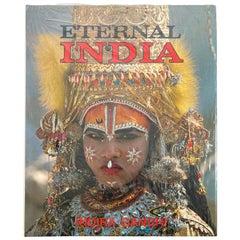Eternal India by Indira Gandhi, Jean Louis Nou Hardcover Table Book