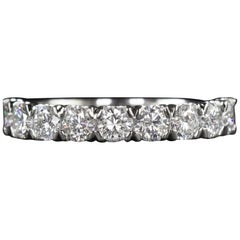 Eternity Band Ring Ideal Cut Diamond Ring