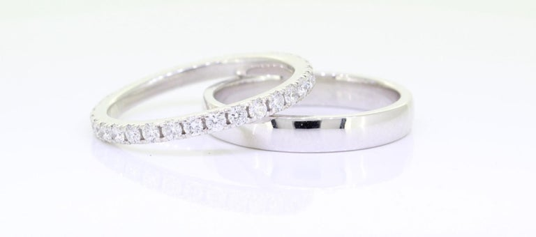 A Beautiful Handcrafted Eternity Wedding Band Ring in Platinum 950 with Natural Brilliant Cut Round Diamond . A perfect Wedding Band with toatl 0.76 Carat of Diamonds.  Natural Diamond Details Pieces :  31 Pieces Weight : 0.76 Carat  Clarity of