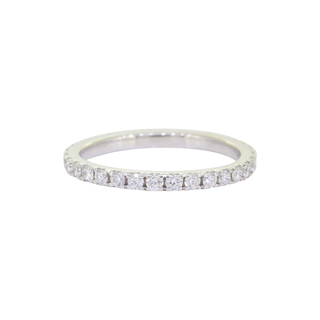 Eternity Platinum Wedding Band 3/4 Carat