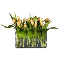 Eternity Rectangular Milos Set Arrangement, Yellow Flowers, Italy