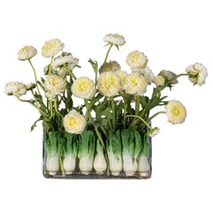 Eternity Rectangular Zante Vase Set Arrangement, Flowers, Italy
