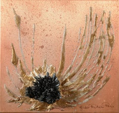 Eternity, Relief Painting by Gisèle Rutman, 1985