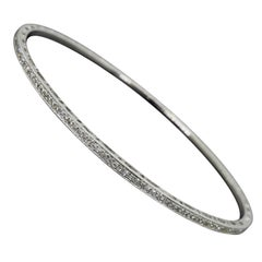 Eternity Style Diamond Bangle Bracelet