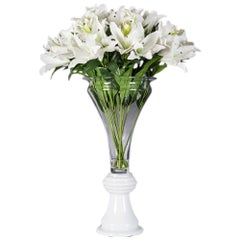 Eternity Vase Vanessa Lilium Set Arrangement, Flowers, Italy
