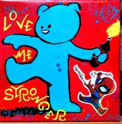 LOVE ME STRONGER BLUE