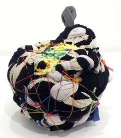 """Lophophora"", Contemporary Abstract Mixed Media Sculpture"