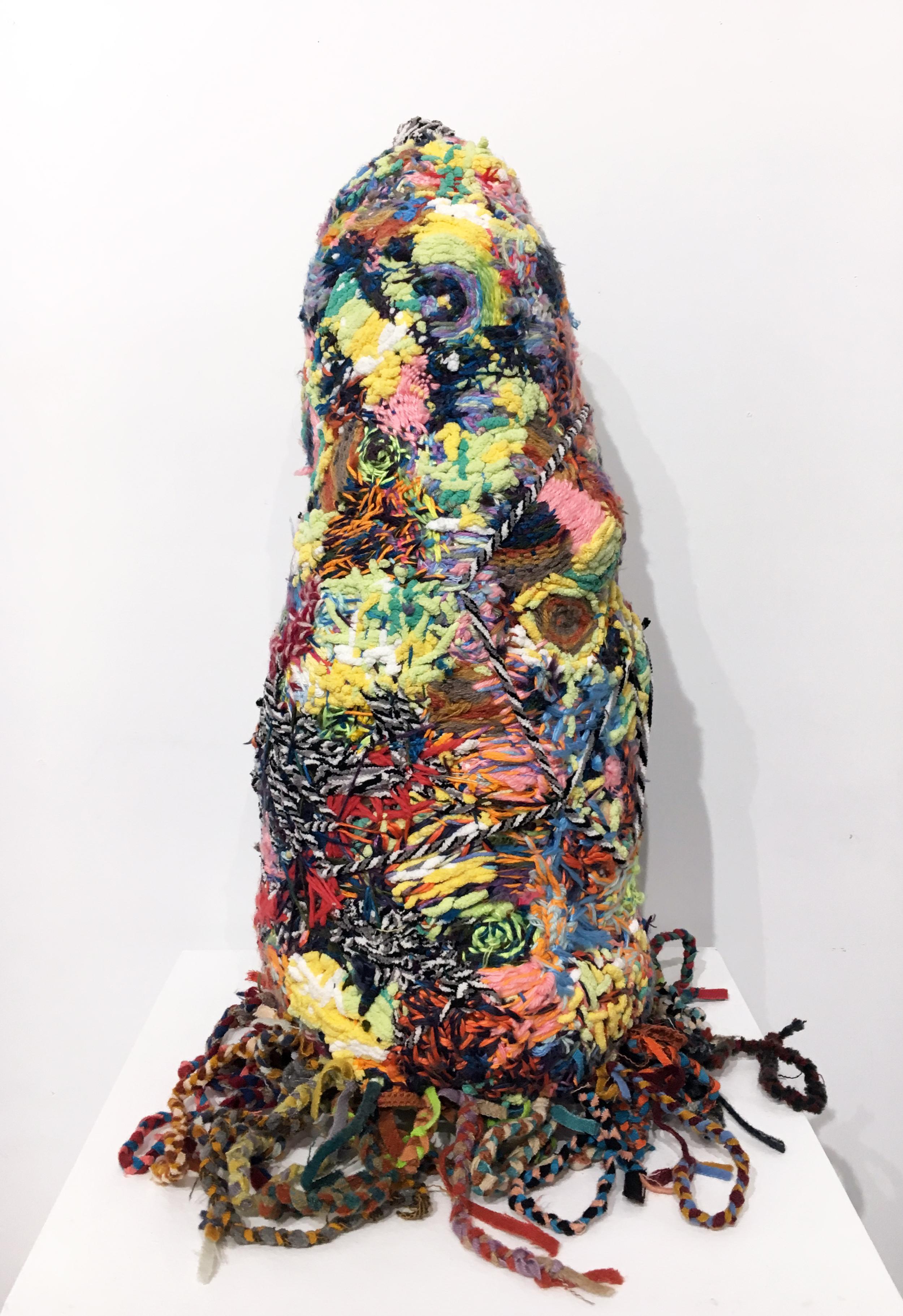 """The Homunculus"", Contemporary, Mixed Media, Sculpture, Thread, Wool, Foam, Soft"