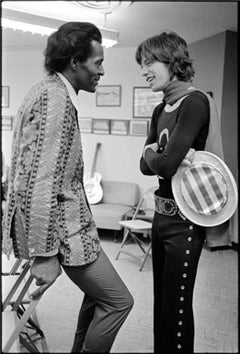 Mick Jagger and Chuck Berry 1969