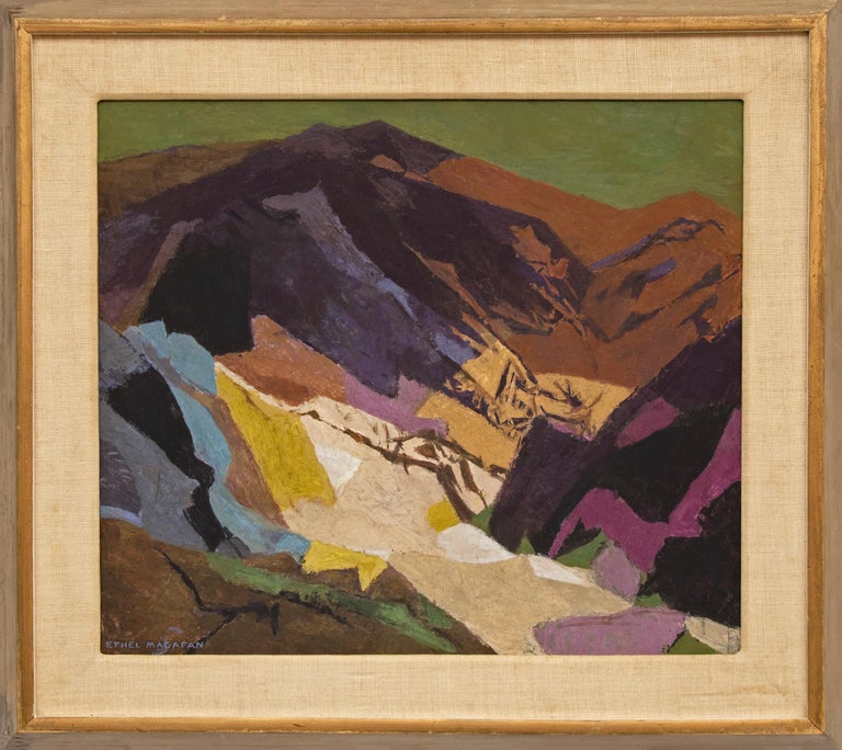 Distant Country (Semi-Abstract Colorado Mountain Landscape) For Sale 1