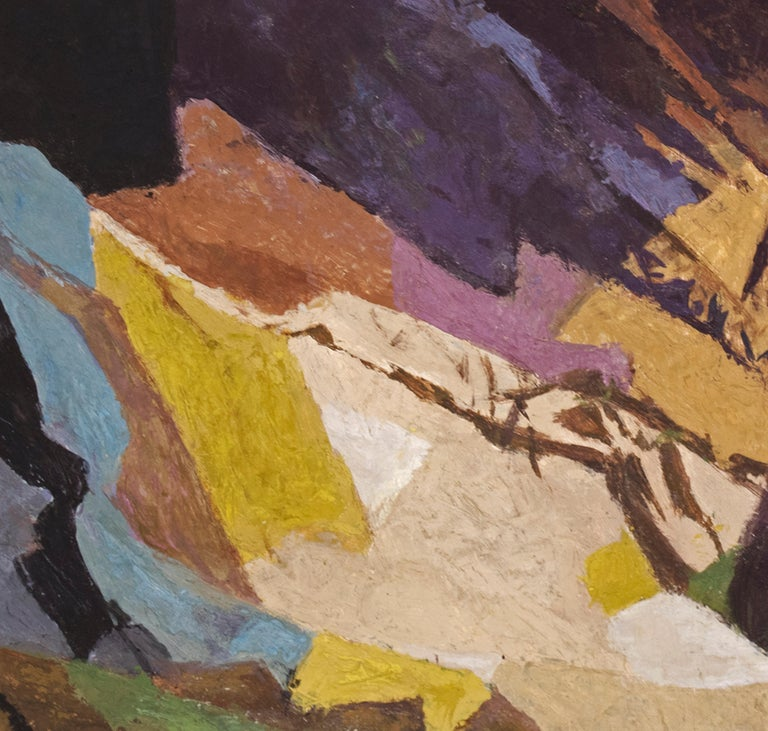 Distant Country (Semi-Abstract Colorado Mountain Landscape) For Sale 2