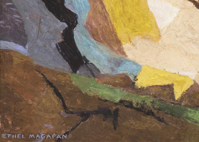Distant Country (Semi-Abstract Colorado Mountain Landscape) For Sale 5