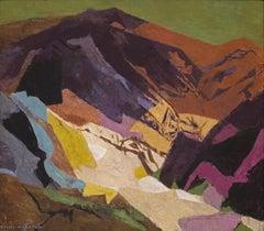 Distant Country (Semi-Abstract Colorado Mountain Landscape)