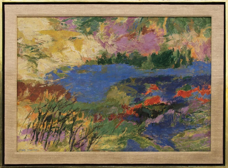 Quiet Water (Landscape with Pond) For Sale 1
